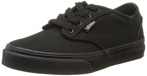 Vans Atwood Unisex Kids' Low-Top Sneakers - Black, 6 UK