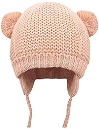 DORRISO Cappello Bambino Caldo Autunno Invernale Carina Piccolo Cappelli  Berretto Bambini Infantili del Cappello per 1 d366bb68b84e