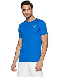 Puma Men's Solid Regular Fit Active Base Layer Shirt