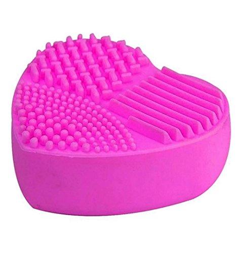 ZEZKT-Beauty Silicone Love Shape Pinselreiniger Make Up Pinsel Reinigung Reinigungsmatte Silikon...