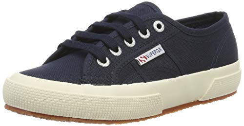 Superga Unisex-Erwachsene 2750 Cotu Classic Low-Top, Blau (Navy S 933), 39.5 EU Allen Slip On