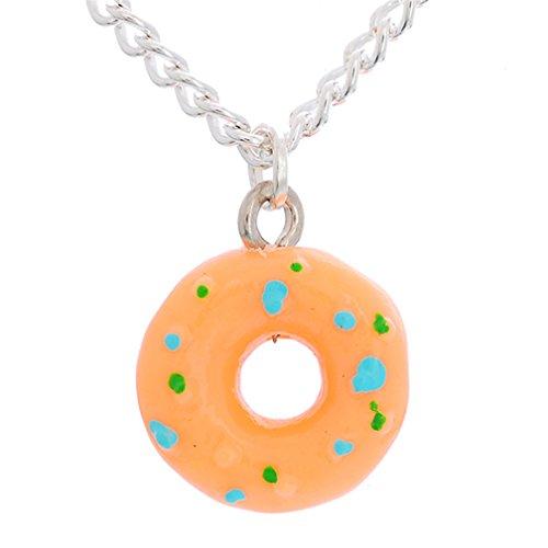 MJARTORIA Damen Mädchen Freundschaftsketten Donut Halskette Beste Freundinnen für immer Essen Schmuck (4 Stück)