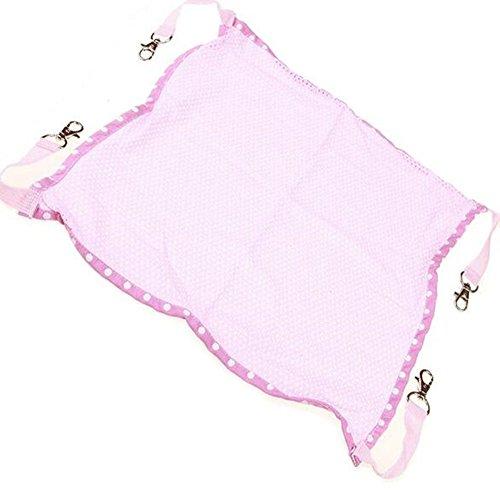 Haustier Katze Sommer Hängematte Hängematte Tier Bett Hängen Käfig Kühler Matratze Wiege Quilt Rosa, Groß,Pink -