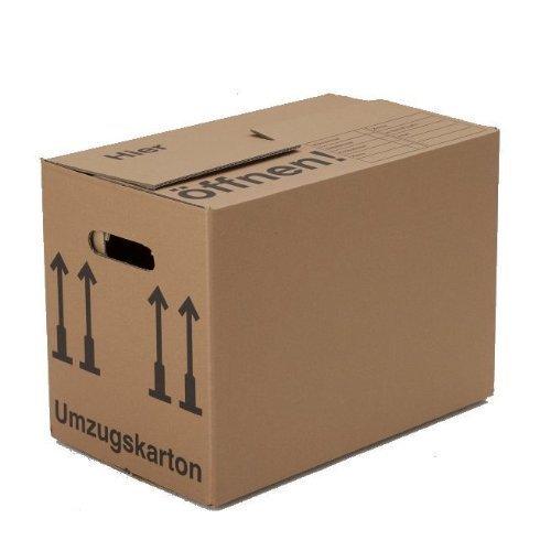 Preisvergleich Produktbild BB-Verpackungen Bücherkartons, 15 Stück, Basic 400 x 330 x 340 mm Bücher Kiste Umzug Karton Box Transport Verpackung