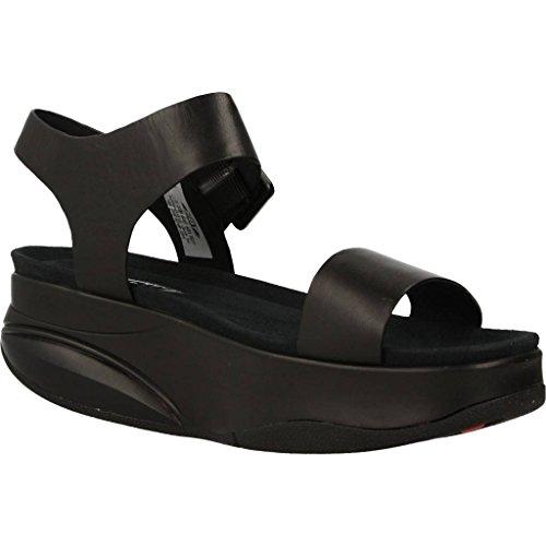 Sandales, couleur Noir , marque MBT, modèle Sandales MBT MANNI W Noir Noir