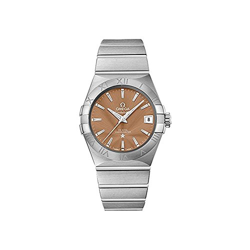 Omega Men's 12310382110001 Constellation Analog Display Swiss Automatic Silver Watch