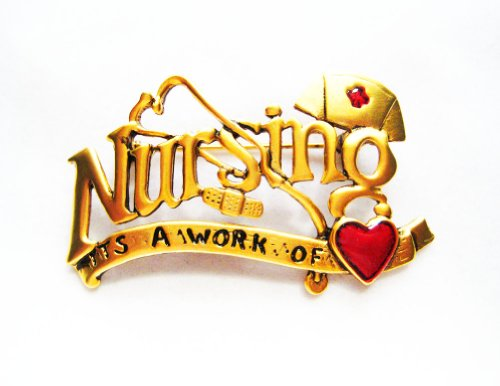 danecraft-gold-plated-nursing-its-a-work-of-love-heart-bandaid-pin-brooch