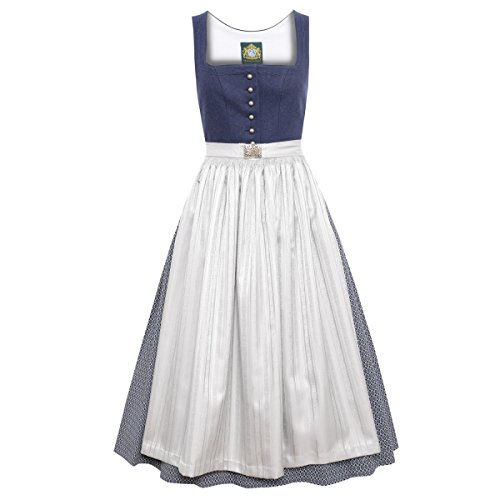 Hammerschmid Langes Dirndl Chiemsee in Blau