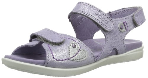 Ecco Tilda L.Purple/Alusilver S.Dust/Candy 727512 Mädchen Sandalen, Violett (LIGHT PURPLE/ALUSILVER 58526), EU 31