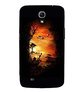 EPICCASE Simba and Pumon Mobile Back Case Cover For Samsung Galaxy Mega 6.3 I 9200 (Designer Case)