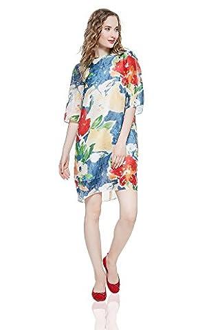 Sommerkleid Tereza knielang Freizeitkleid mit Blumendruck Damen Kleider von der Marke Nothing But Love (36)