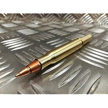 Patronen-Kugelschreiber aus 30-06 und 357 Magnum Patronen, Steirische Handarbeit, Dokumentenecht! Ohne Clip (keine…
