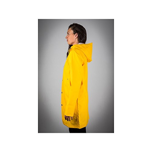 Reykjavik Raincoats - Impermeable Marin Unisexe Jaune