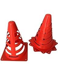 Dunlop pylones Hauteur Cône d'alerte 4pièces des transports Cône Cône de signalisation JosefSteiner Cône Set