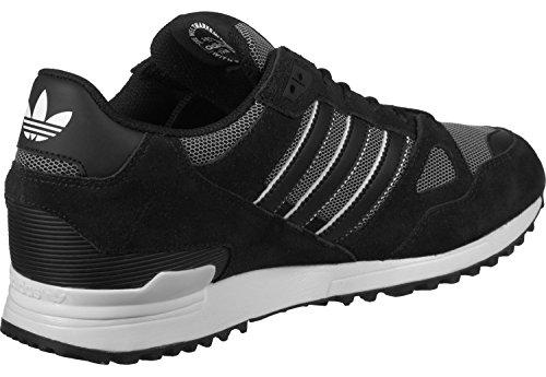 adidas ZX 750, Chaussures de Fitness Homme, Noir noir blanc