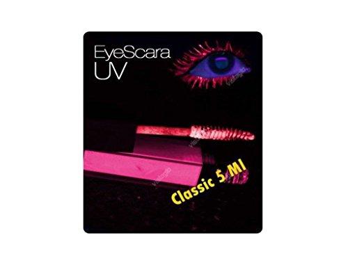 Mascara yeux UV fluorescents JANET Eyescara ROSE