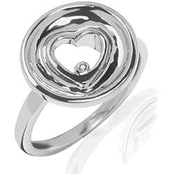 Secret Diamonds - Anillo - 925 Plata esterlina - complementos de mujer - En diferentes tamaños, Anillo de Plata esterlina, Joyería de plata, Joyas con Diamantes - 60250070