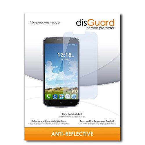 disGuard® Bildschirmschutzfolie [Anti-Reflex] kompatibel mit Haier Phone W867 [2 Stück] Entspiegelnd, Matt, Antireflektierend, Extrem Kratzfest, Anti-Fingerabdruck - Panzerglas Folie, Schutzfolie