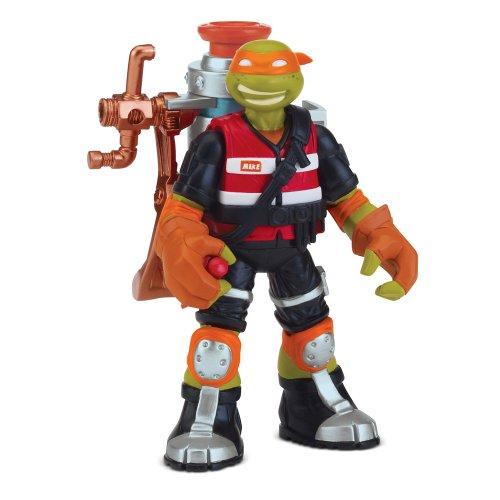 Stadlbauer Marketing + Vertrieb GmbH stadl Bauer 14090553 - Teenage Mutant Ninja Turtles mutagène Ooze Mike Base Figurine