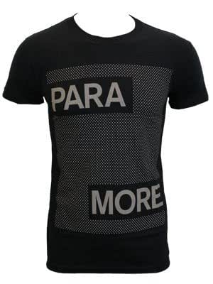 Paramore Dots Black Slim Fit T-Shirt