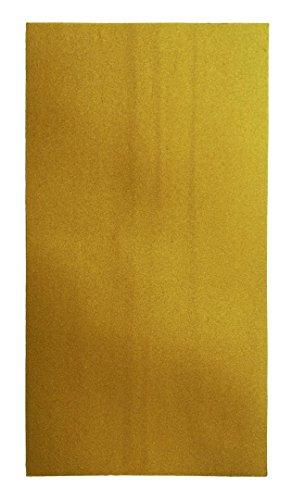 Wiedemann Wachsplatten Veredelt Kartonware, Wachs, Altgold, 20 x 10 cm, 10-Einheiten