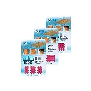 AcuTop® Gitter Tape Set Typ A + Typ B + Typ C Beige, Pink oder Blau