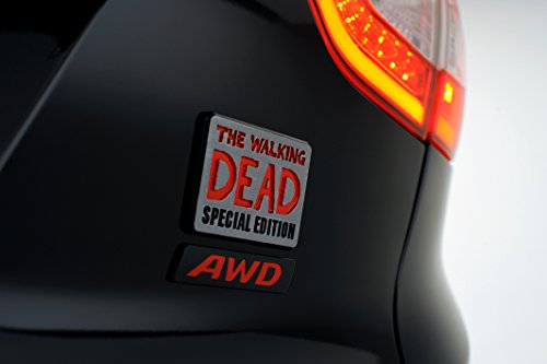 Classic e spie Muscle Car e auto Art Hyundai Tucson The Walking Dead Special Edition (2014) auto Art Poster stampata su carta 10 mil archiviazione Satin Nero/Rosso emblema View, Carta, Black/Red Emblem View, 91 x 61 cm (36 x 24 Zoll)