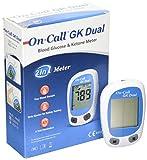On Call GK Dual - Misuratore per monitoraggio livelli di chetoni e glucosio nel sangue