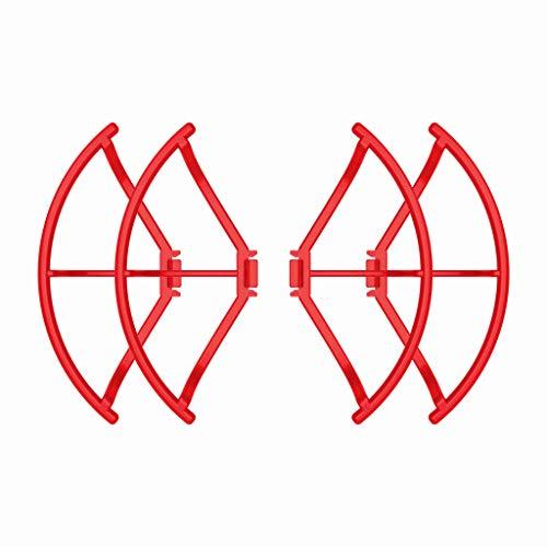 Costume Easy Mount Schnellspanner Stoßstangenschutz Leichte Propellerabdeckung für Papagei Anafi (Rot)