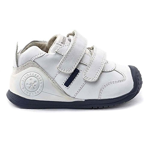 Baby Weißblau Jungen Biomecanics 151157 Lauflernschuhe Om0yN8wnvP