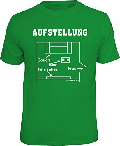 Original RAHMENLOS T-Shirt zur Fußball EM2016: Aufstellung, Größe XL, Nr.6825 (T-shirt Aufstellung)