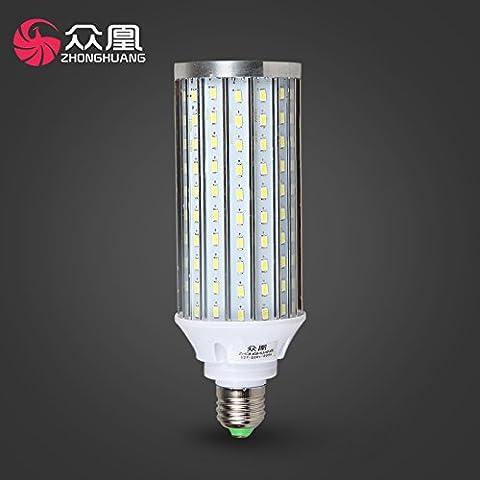Dngy*lampadina LED LED lampadina luce di mercato di mais l'illuminazione a risparmio energetico lampada luce E27 grande sfera a vite rendendo 12w è bianco ,20W bianco caldo