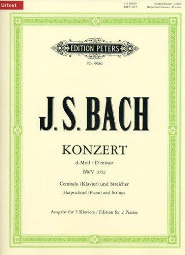 Konzert fr Cembalo und Streicher d-Mol...
