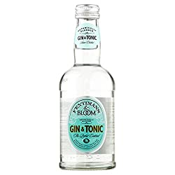 Fentimans Bloom Gin & Tonic Pre Mixed Bottles (12 X 275ml)