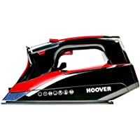 Hoover IRONjet TID2500C Steam Iron, 2500 W, Black