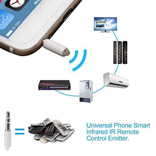 Sungpunet Smartphone, Infrarot-Fernbedienung, Infrarot-Fernbedienung, Universalfernbedienung, STB, DVD-Steuerung, Weiß - Universal-fernbedienung, Infrarot