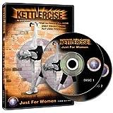 Kettlercise Just For Women Vol 1, 2 Disc DVD Set - Ultimate Kettlebell Fat Loss & Body Tone Workout Program