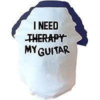 I need my chitarra non therapy-Due tonalità di colore: rosa/blu - Hippy Cane