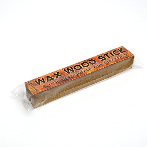 Wax Wood Stick Cire bâton de bois Température de sortie Fire Starter