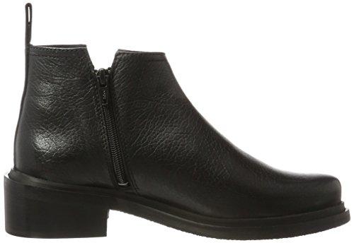 Shoe Biz Zip Boot, Bottes Classiques Femme Noir (Aragon Black)