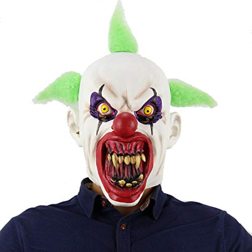 Latex-Maske Für Halloween, Clown-Maske, Horror-Blut-Mund-Maske, Prank-Maske Gesicht Beängstigend Halloween-Kostüm-Party, Bar-Requisiten, Maske Für Maskerade