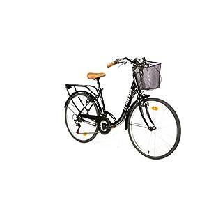 """41syEDWZU8L. SS300 Moma Bikes, Bicicletta Passeggio Citybike Shimano. Alluminio, 18 velocità, Ruota da 26"""""""
