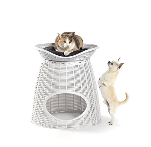 Bama Pasha Cuccia per Gatti e Cani, Ghiaccio, 52x50x55 cm