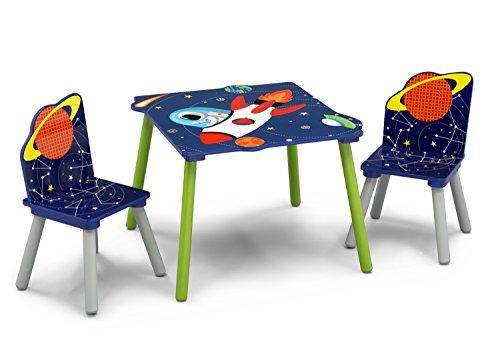 Delta Children Astronautas - Juego de mesa y sillas, unisex