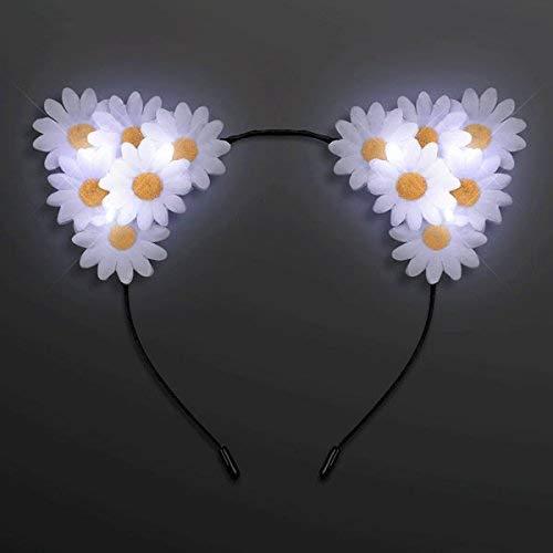 MODEOR LED Daisy Flowers Katzentierohren Stirnband von (Stirnband Daisy Flower)