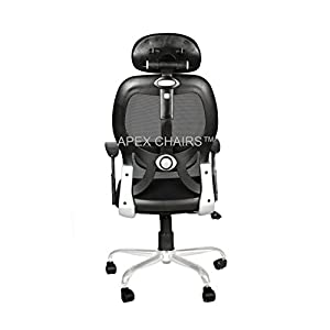 APEX CHAIRS Apollo Chrome Base High Back Chair