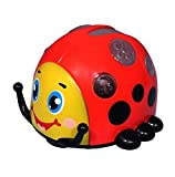 SkyKids Rollover Beetle Musical Toy, Red