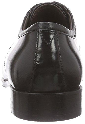 Ecco Irvington, Scarpe Stringate Uomo Nero (51052black/black)