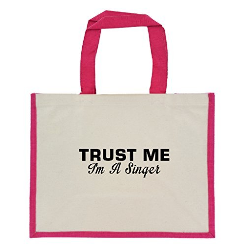trust-me-im-a-singer-in-black-print-jute-large-shopping-bag-with-pink-handles-and-trim