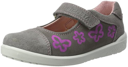 Ricosta Lone, Sneakers basses fille Grau (Graphit)